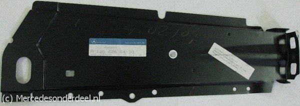 A1266260430 1266260430 Versterking subframe plaat rechts
