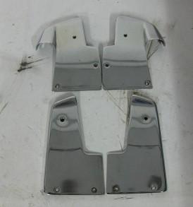 Chromen deurdelen chassis en deur c124