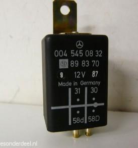 0045450832 Licht instrumenten bediening dimmer