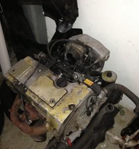 M111 Motor compleet met aanbouwdelen