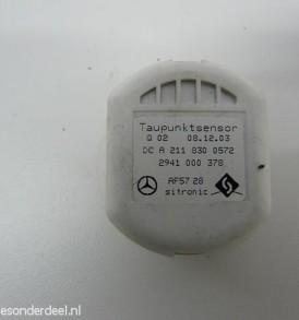 A2118300572 2118300572 Taupunkt Heater Temp Sensor Code 581